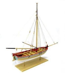 18th Century Longboat Wooden Kit