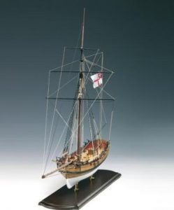 Amati Wooden Ship Kit - Lady Nelson